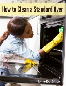 How To Clean A Standard Oven