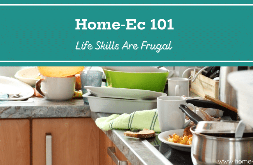 A Day Late, A Dollar Short, No More: Life Skills are Frugal
