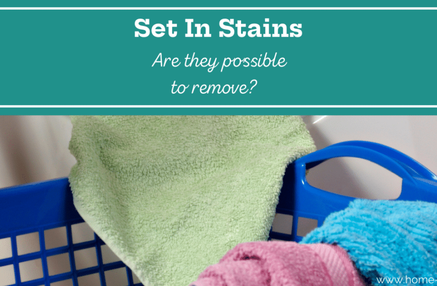 The Ugly Truth About Set-In Stains