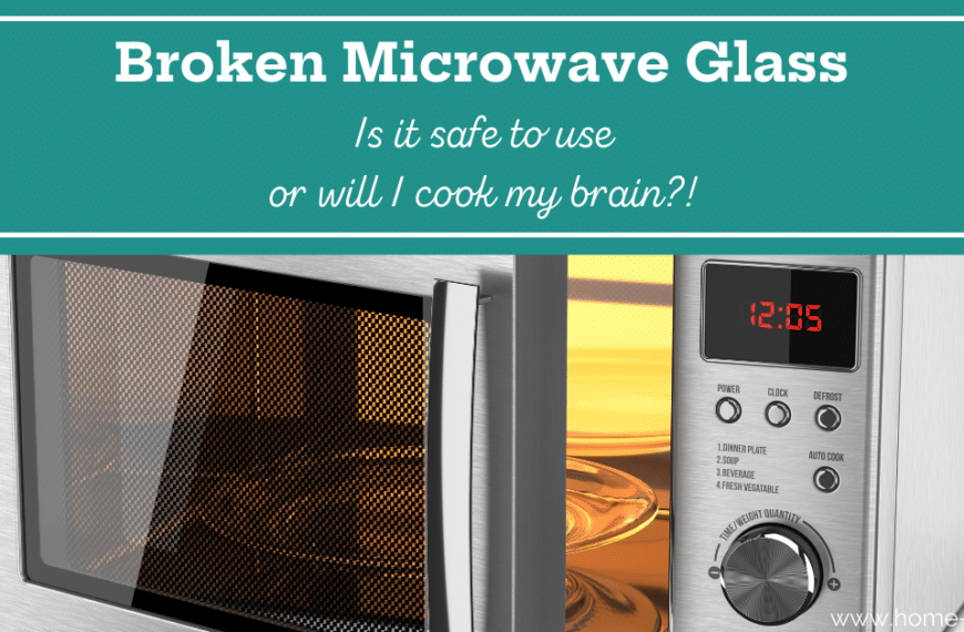 The Microwave Glass is Broken, Can I Still Use It?