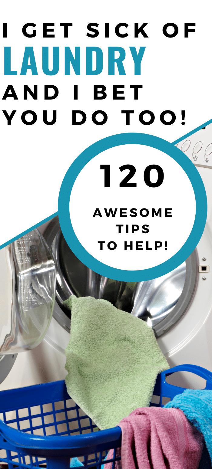 120 Tips and Tricks to make doing laundry easier