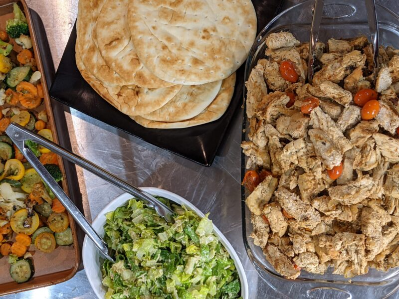 Schwarma-Inspired Chicken Excellent with Pita or over Salads or Hummus