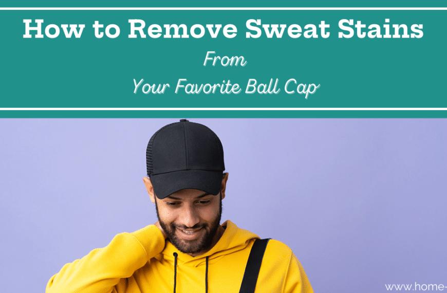 How to Clean a Sweaty Baseball Cap